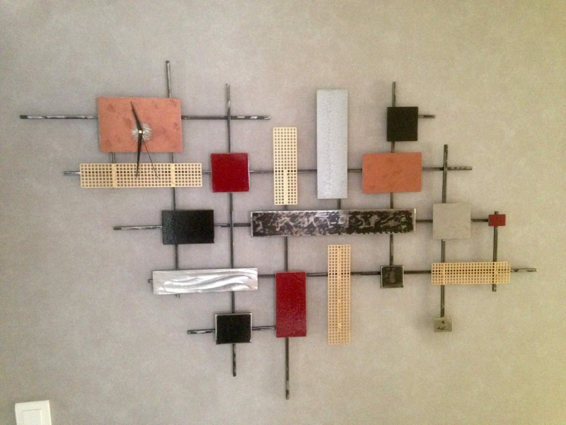 Tableau deco en metal maison design - Tableau deco en metal ...