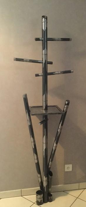 galerie photos porte manteau bambou lh m tal d co. Black Bedroom Furniture Sets. Home Design Ideas