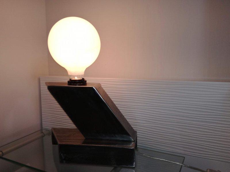 galerie photos lampe de chevet lh metal d co. Black Bedroom Furniture Sets. Home Design Ideas